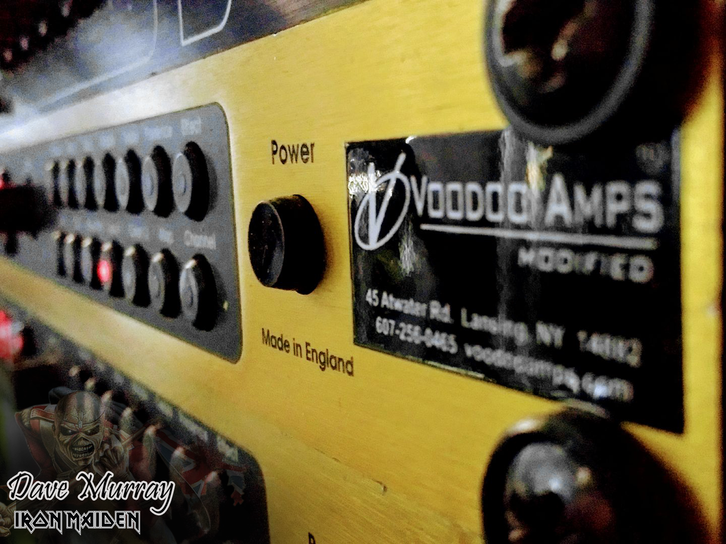 Dave Murray of Iron Maiden > Voodoo Amps