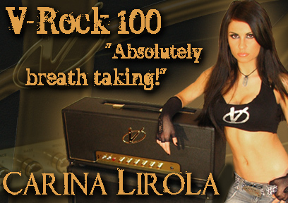Carina Lirola with V-Rock