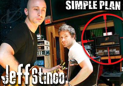 Jeff Stingo of Simple Plan